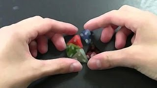 ViHart on Tetrahedral Dice - Numberphile