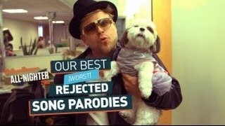 Our Best (Worst) Rejected Song Parodies (All-Nighter 2014)