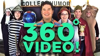 A 360 DEGREES Tour Of The CollegeHumor Office