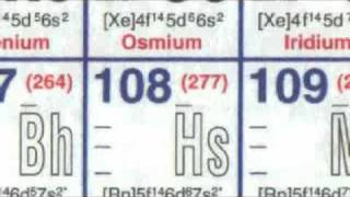 Hassium (old version) - Periodic Table of Videos