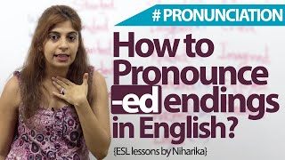 How to Pronounce -ed endings in English? English Vocabulary & Accent lesson
