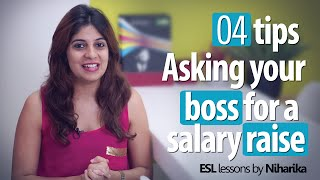 Learn 4 tips – Asking your boss for a salary raise (Business English lessons)