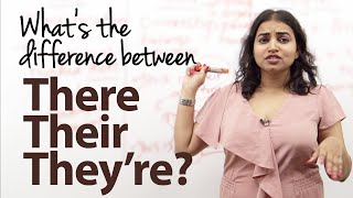 What's the difference between There, Their and They're?  - English Grammar Lesson