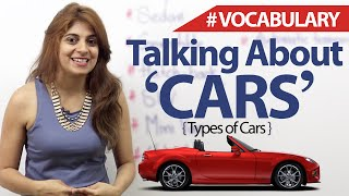 Talking about Cars - English Vocabulary Lesson