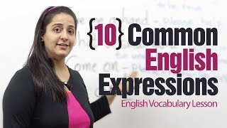 10 useful English expressions - English Vocabulary Lesson
