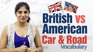 British English vs American English -- Car & Road Vocabulary -- English Lesson