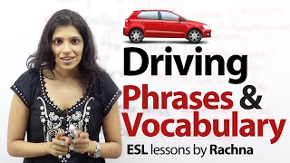Phrases to talk about 'Driving' in English - Free English Lesson