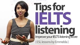 Tips for IELTS listening - Improve your IELTS listening score ( Free English lessons)