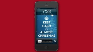 Santa's iPhone