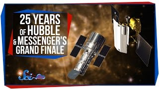 25 Years of Hubble, and MESSENGER's Grand Finale