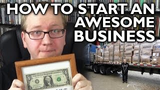How to Start an Awesome Business (ft. Alan Lastufka)!