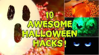 10 Cheap & Easy Halloween LIFE HACKS!