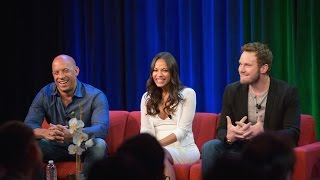 "Chris Pratt, Zoe Saldana, & Vin Diesel: ""Guardians of the Galaxy"" 