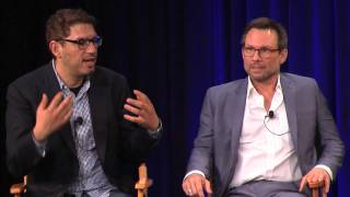 "Christian Slater & Sam Esmail: ""USA's Mr. Robot"" 