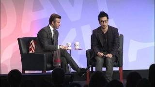 Google+ David Beckham Interview | Talks at Google