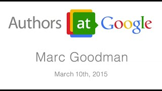 "Marc Goodman: ""Future Crimes"" 