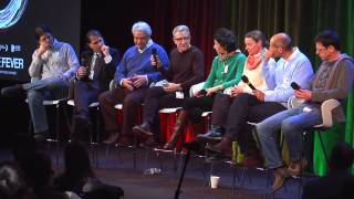 "Mark Levinson and cast: ""Particle Fever"" 