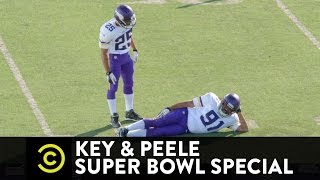 Key & Peele Super Bowl Special - Heard That! - Sack-Dance Chillin' with Donkey Teeth