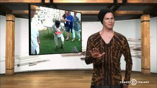 Tosh.0 - Is It Racist? - Watermelon Eating Contest