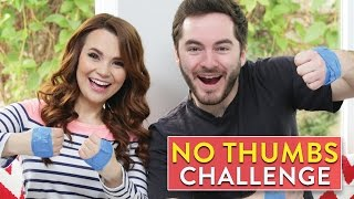 NO THUMBS CHALLENGE ft CaptainSparklez!