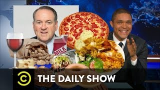 The Daily Show - Mike Huckabee's Food-Based Politics