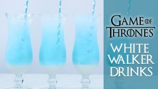 GAME OF THRONES WHITE WALKER DRINKS - NERDY NUMMIES