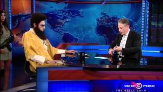 The Daily Show - Admiral General Aladeen
