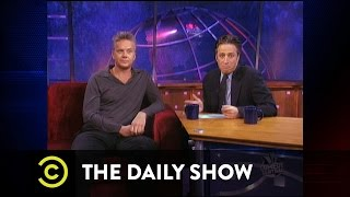 The Daily Show - A Look Back - Cultural Docent Extraordinaire
